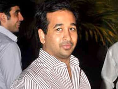 File image of Nitesh Rane. Image courtesy: Wikimedia Commons