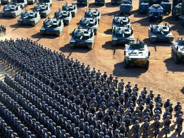 Chinas military might: Here is how Peoples Liberation Army is flexing its 2 bn defence muscle