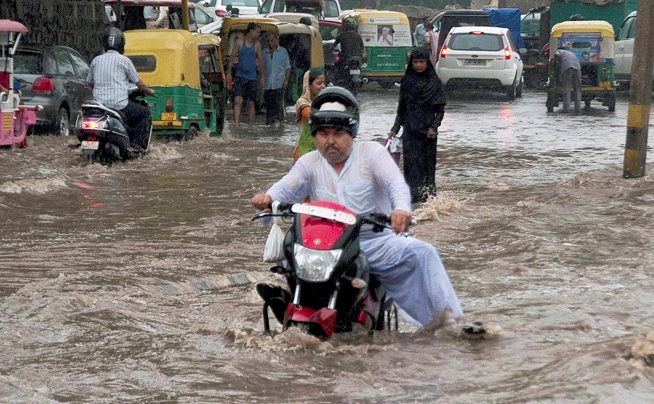 Adjoining areas of Noida, Ghaziabad, Gurugram and Faridabad also witnessed heavy showers, and water-logging was reported at various other places. PTI