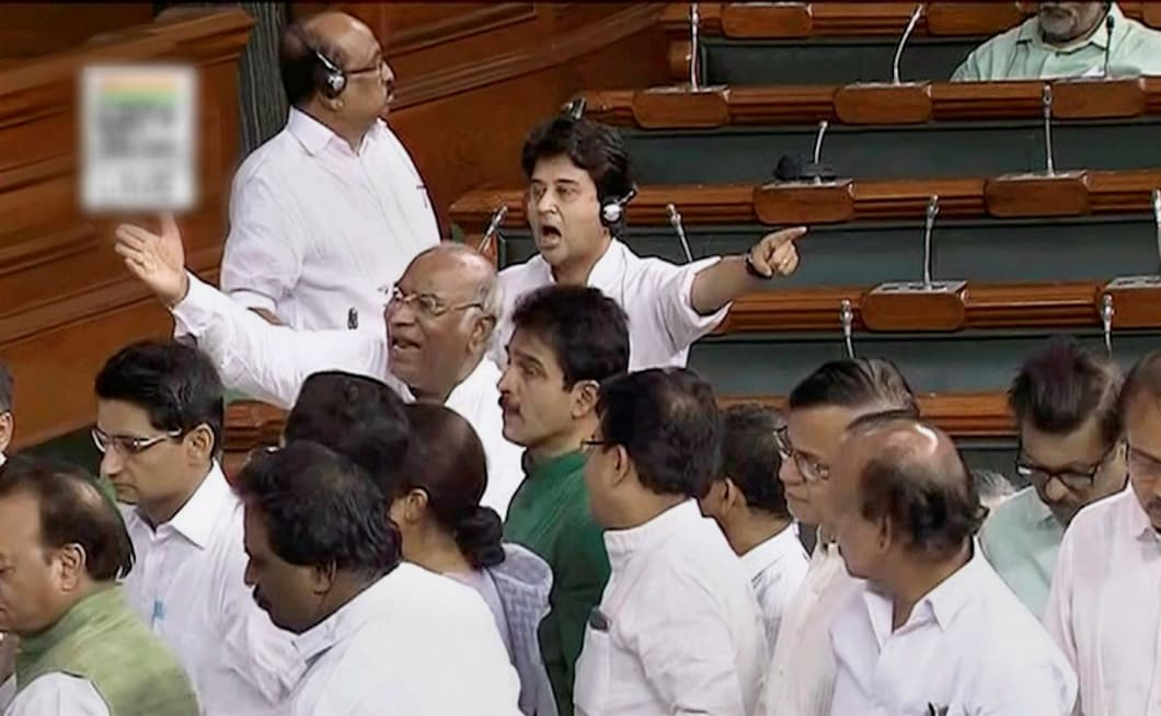 Congress leader in Lok Sabha Mallikarjun Kharge claimed that people were being lynched but the