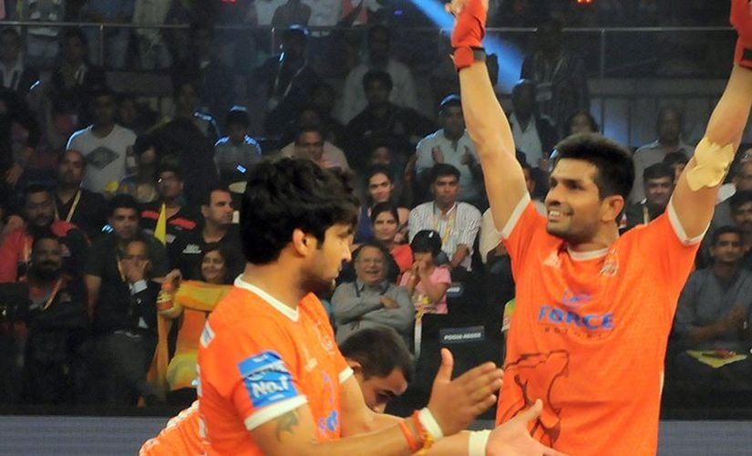Deepak Hooda will have a big role to play if Puneri Paltan have to win the title. Twiiter/@ProKabaddi