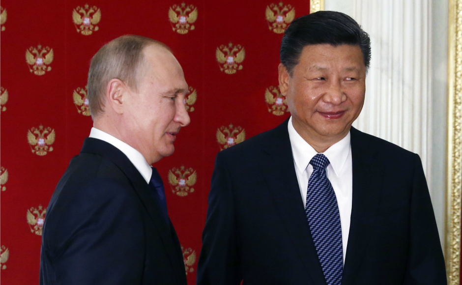 Putin will also award Xi with the order of St.Andrew, one of Russia's highest honors. Xi will then leave for Germany to attend G20 summit scheduled on 7-8 July. AP