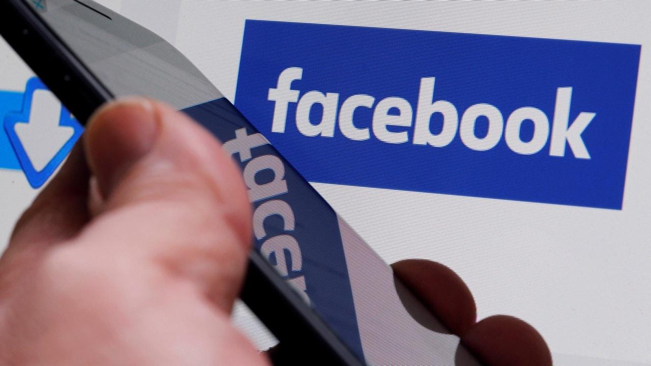 The Facebook logo. Image: Reuters