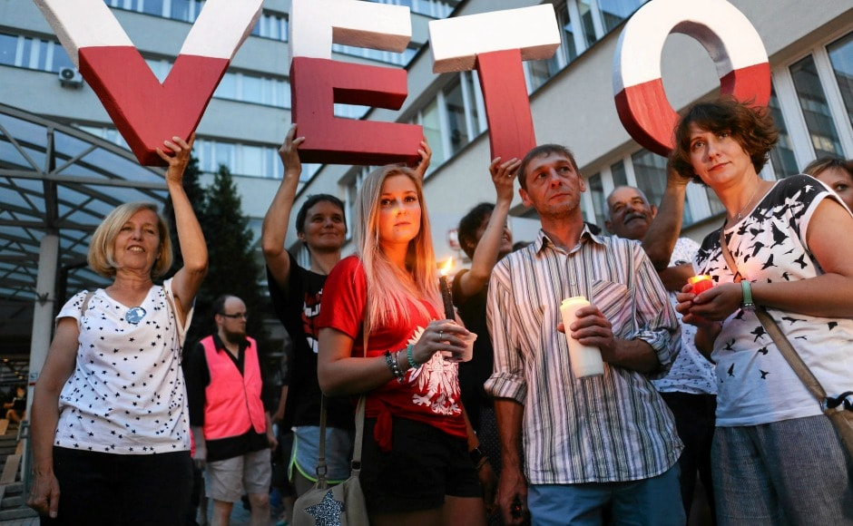The European Union and many legal experts have warned that if Poland passes proposed bills, the country will move closer to authoritarianism. AP
