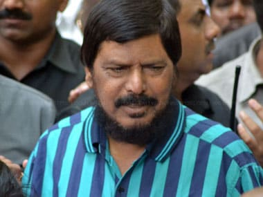 File image of Union minister Ramdas Athawale. Firstpost