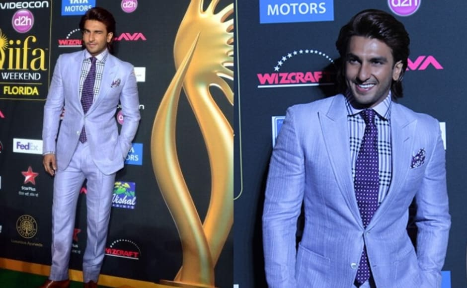 Ranveer Singh at IIFA 2012 - Worst Dressed