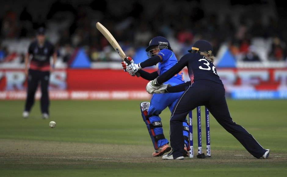 India were coasting when Shrubsole took the key wicket of Poonam Raut, lbw for 86, and the inexperienced middle order collapsed. AP