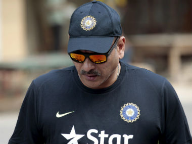 File image of India coach Ravi Shastri. Reuters