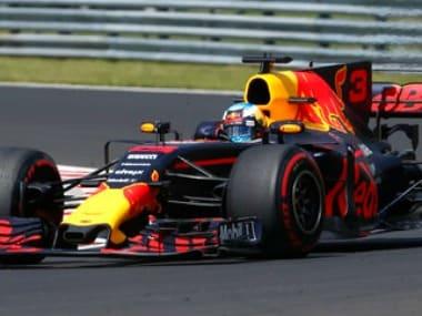 Daniel Ricciardo sets the fastest time in Hungarian GP. AP