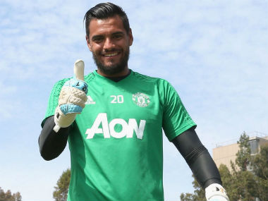 Manchester United have confirmed that Sergio Romero has signed a new four-year contract. Twitter: @ManUtd