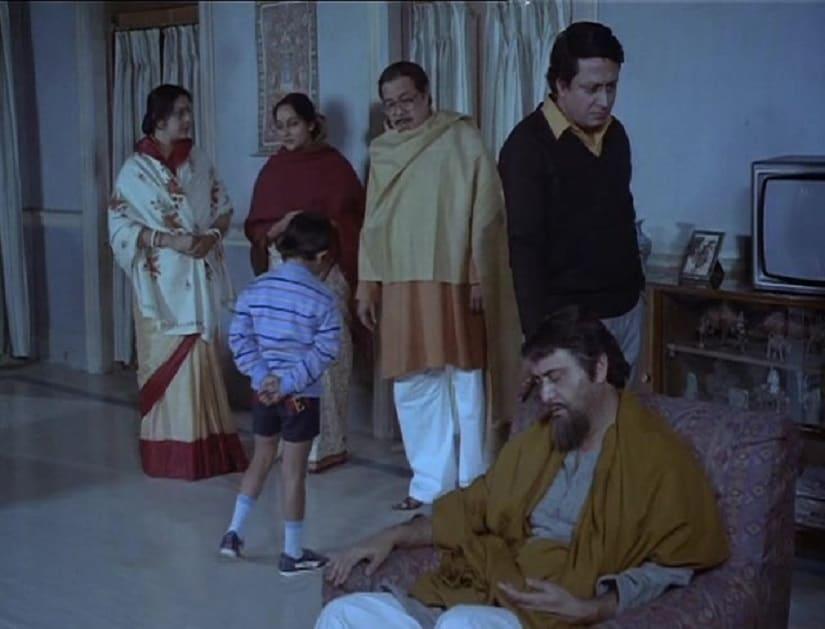 Still from Satyajit Ray's Shakha Proshakha