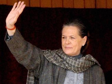 File image of Sonia Gandhi. PTI
