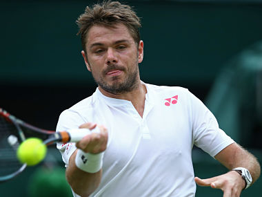 File image of Stan Wawrinka. Getty