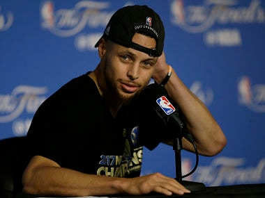File image of Golden State Warriors guard Stephen Curry. AP