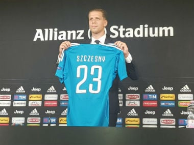Serie A: Juventus sign Polish goalkeeper Wojciech Szczesny from Arsenal for an undisclosed fee