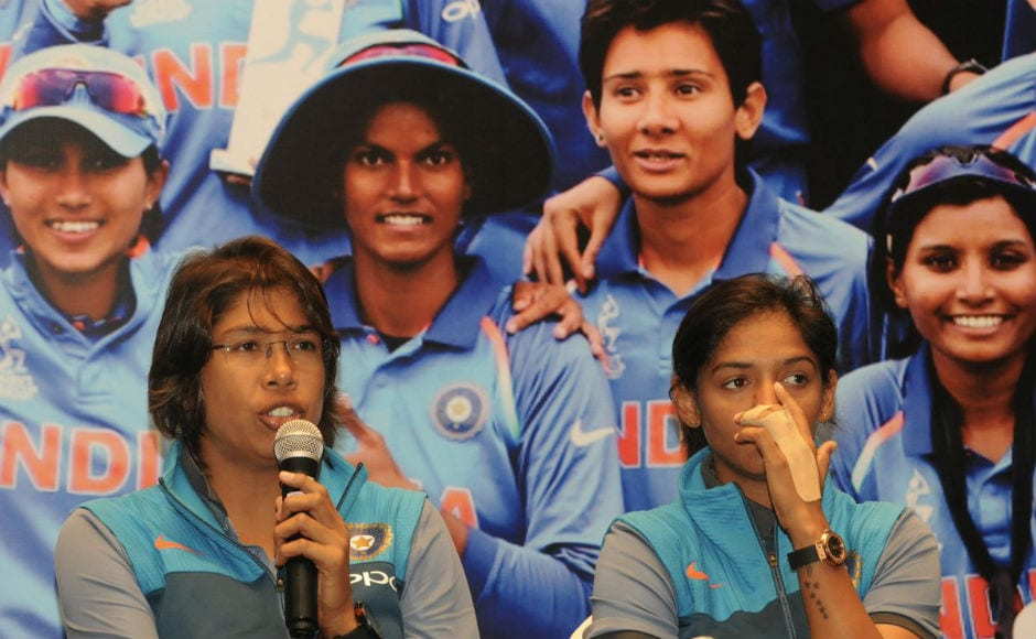 Veteran bowler Jhulan Goswami was happy with India's all round show. BCCI