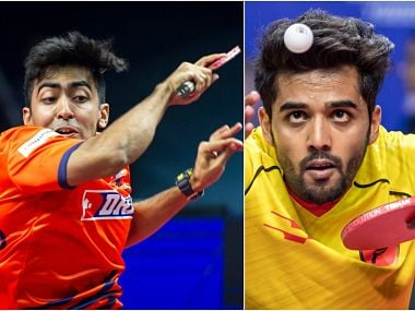 Highlights Ultimate Table Tennis (UTT) 2017, 1st semi-final: Falcons qualify for final