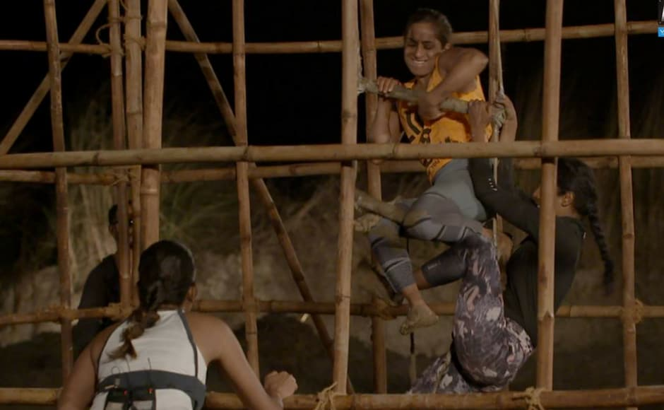 Shwetha Mehta competed against Meenal Shah to become on of the top two finalists. Image via MTV Roadies/Facebook