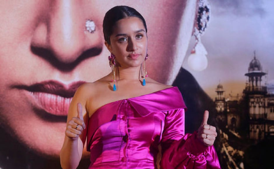 Shraddha Kapoor talked about how she gained 8-9 kgs for the role. (AP Photo)