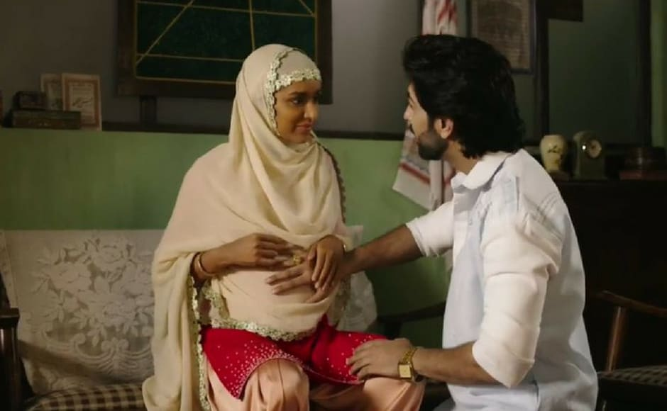 A still from the trailer. Sharaddha Kapoor plays Haseena Parkar, Dawood Ibrahim's sister in the film. (Image via Youtube)