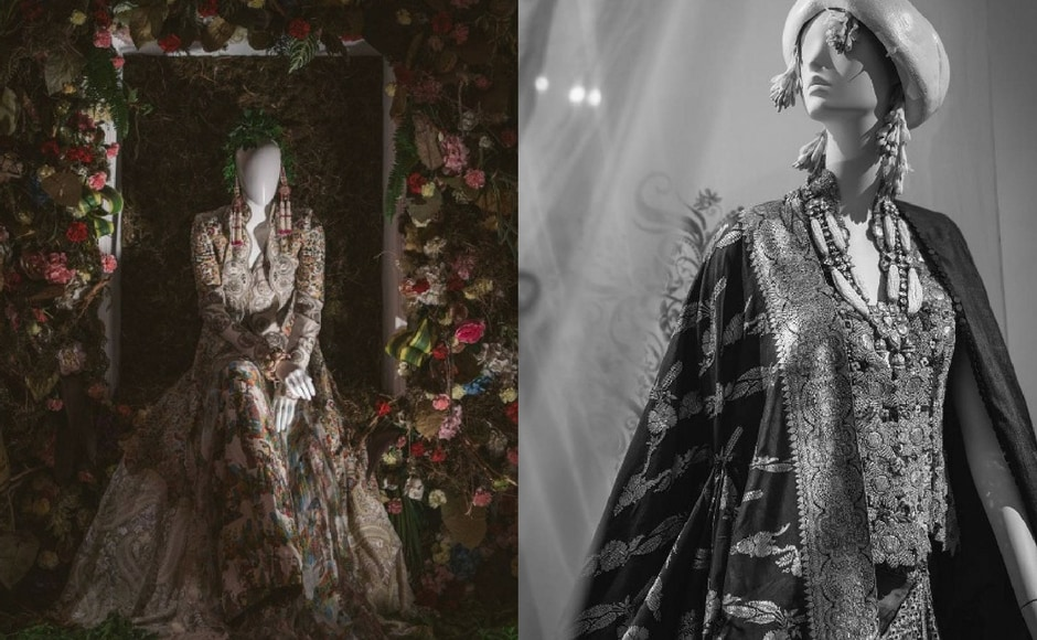 Anamika Khanna's new collection istitled Happily Ever After and consists of one of a kind bridal outfits. Images via Anamika Khanna/Instagram