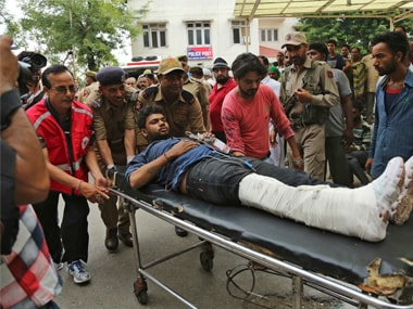 The accident comes just days after militants attacked a bus ferrying yatris in Anantnag along the Jammu-Srinagar Highway on Monday. AP