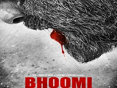 Bhoomi: First look reveals only Sanjay Dutts blood-soaked lip while maintaining mystery