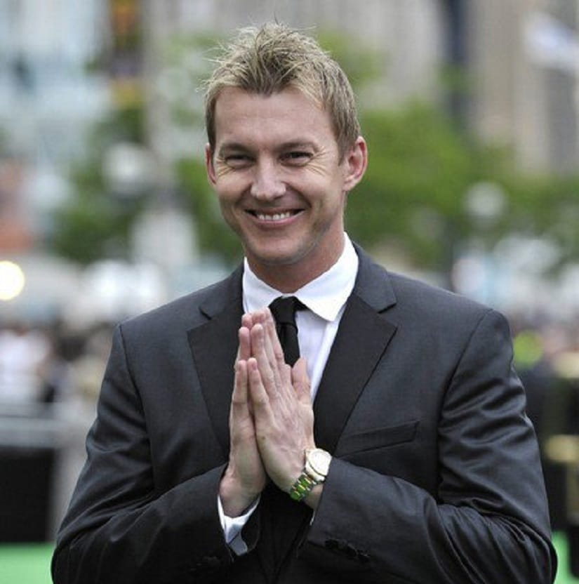 Brett Lee at IIFA 2011. Image from Facebook
