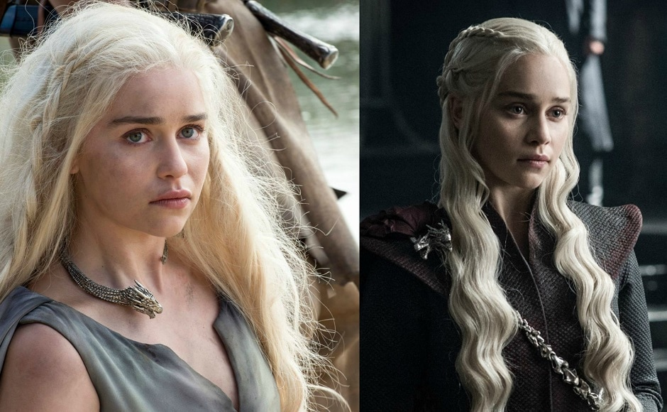 Daenerys Targaryen lost her regal demeanour for a brief time in Season 6 when she is taken as a prisoner by the Dothraki, but being the Breaker of Chains herself, she soon redeemed her status and how! She is all set to take the throne as she sets foot in Westeros. Images from Facebook