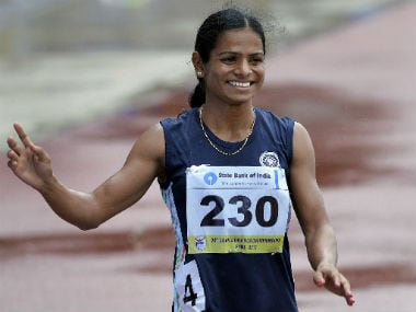 Ace sprinter Dutee Chand reveals shes in a same-sex relationship, says she has found her soulmate