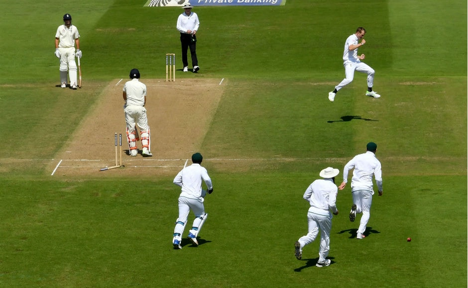 A lot depended on England captain Joe Root, especially after his near-double century in the first Test and a sparkling 78 in the first innings of this Test. But he failed in the 2nd innings and was clean bowled by Chris Morris. AFP