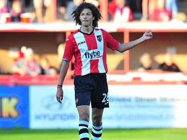 File image of Ethan Ampadu. / www.exetercityfc.co.uk
