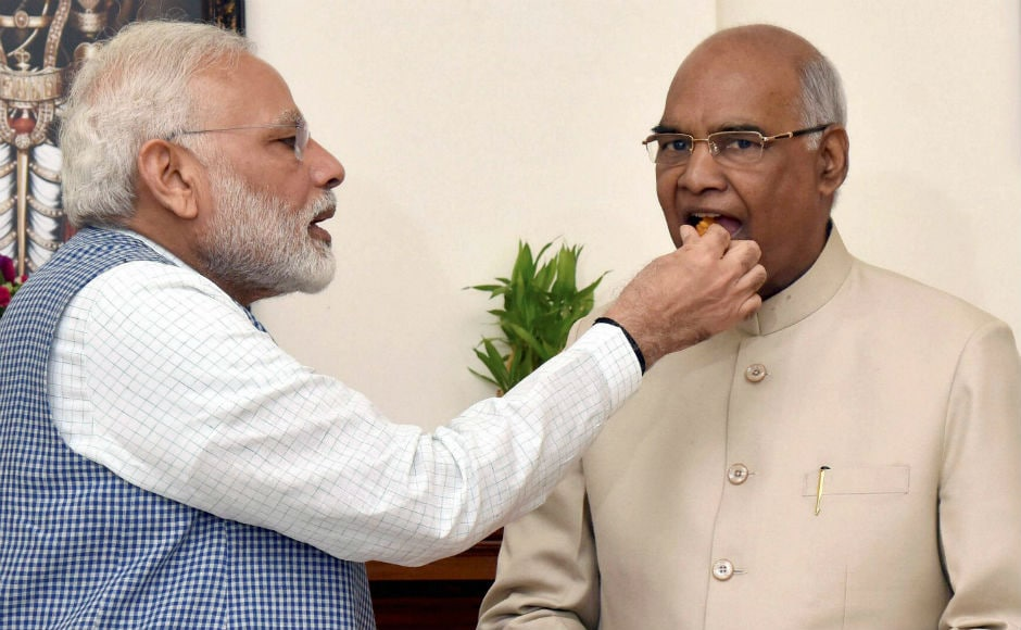 NDA candidate Ram Nath Kovind was on Thursday elected as the 14th President of India after receiving an overwhelming majority of votes from the country's lawmakers. PTI