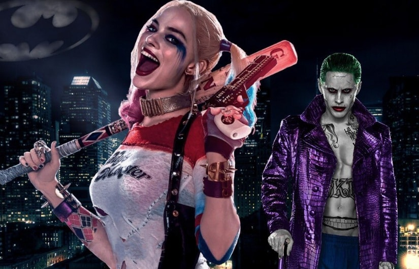 Harley Quinn and The Joker. Image from Twitter.