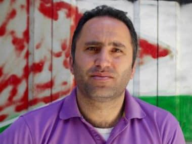 Palestinian human rights activists Issa Amro. Twitter @issaamro
