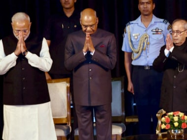 Ram Nath Kovind swearing in as 14th president marks the epitaph of ruling elites first claim to power