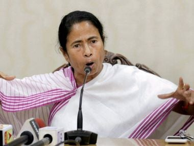 West Bengal chief minister Mamata Banerjee addresses press conference in Kolkata on Tuesday. PTI