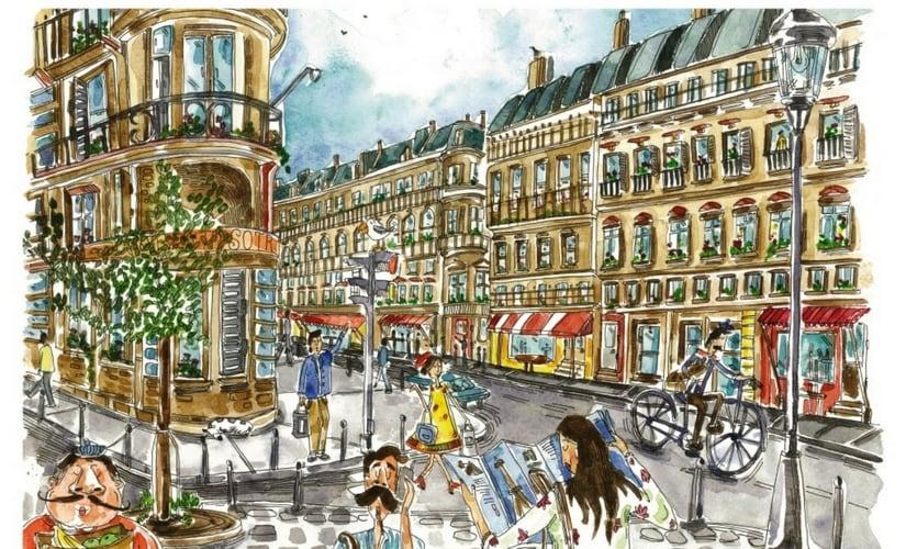 From Sneha's series, 'Paris'.