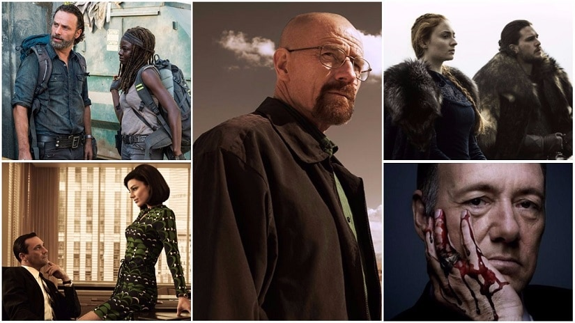 Prestige TV includes shows like The Walking Dead, Mad Men, Breaking Bad, Game of Thrones, House of Cards