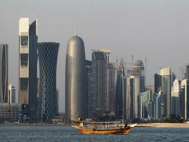 Skyline of Qatar's capital Doha (representational image). AP