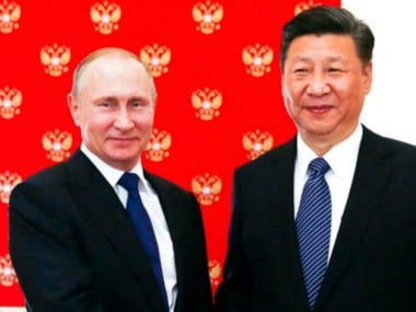 Xi Jinping met Vladimir Putin in Moscow on Monday to discuss bilateral ties and major global issues. Reuters