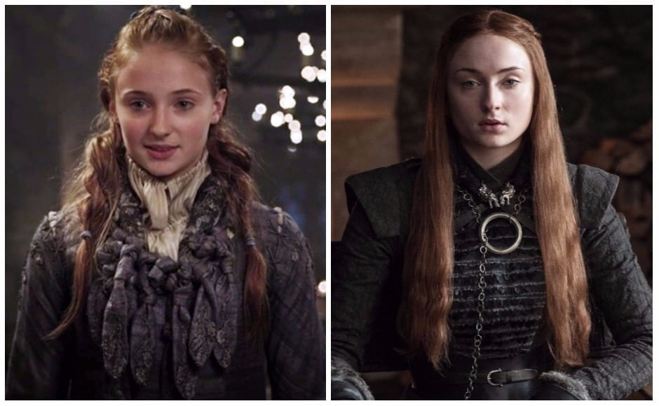 As has his half-sibling (actually, cousin!) Sansa. From being the girl who wanted nothing more than to marry Joffrey Baratheon and be his queen, Sansa's gone down the feed-her-evil-husband-to-his-own-hounds route.
