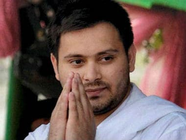 Tejashwi Yadav meets Bihar governor, protests against Nitish Kumar being invited to form government