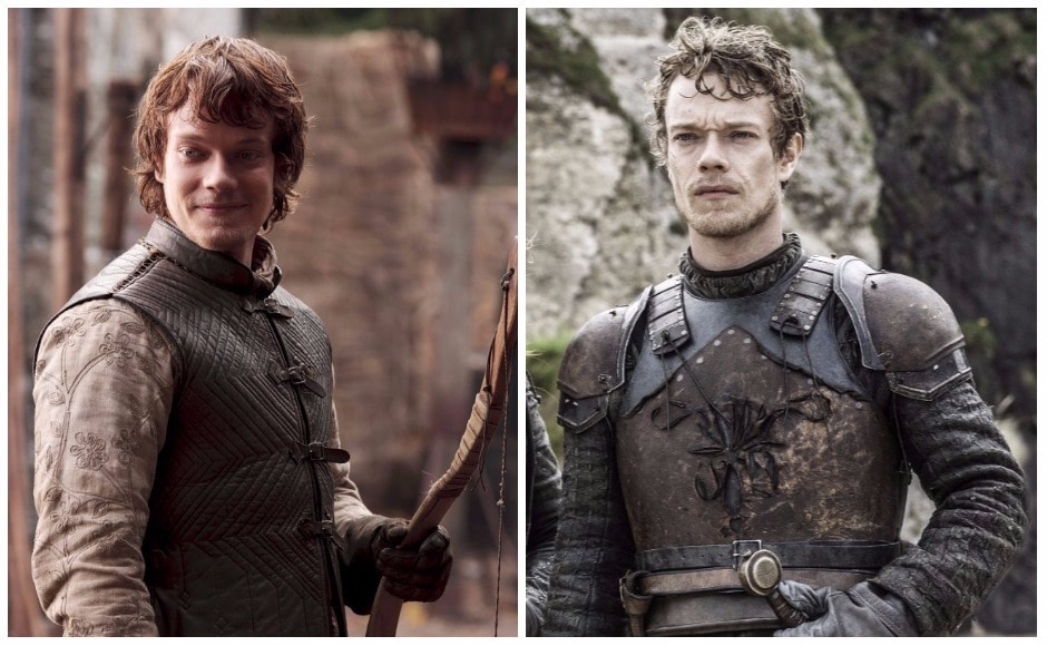 Ah Theon. Who knew the insouciant lad of old would one day transform into Reek?