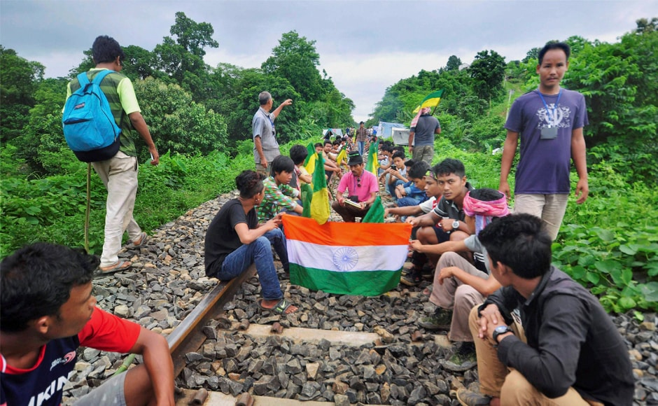 The politics of victimhood played by IPFT, a regional tribal based party, has mobilised the tribal population like never before. Banned insurgent group National Liberation Front of Tripura is also supporting the blockade, according to some reports. PTI