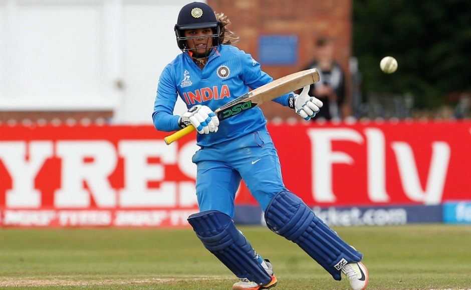 Veda Krishnamurthy smashed 70 runs off 45 balls and propelled the Indian innings to a sizeable total. Reuters