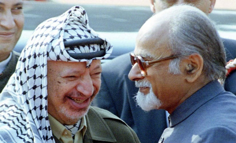 Yasser Arafat shared good relations with the Indian government, making frequent trips to India. Reuters