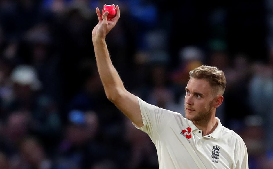 Meanwhile, Stuart Broad became the second highest wicket-taker for England when he took the wicket of Shane Dowrich, surpassing Ian Botham's tally of 383 wickets. Reuters