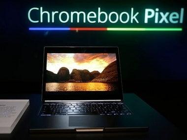 Google Chromebook Pixel. AP