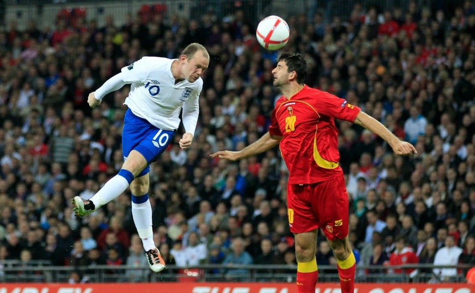 Wayne Rooney hit a purple patch and top scored for England in their 2010 World Cup qualifying campaign with nine goals. Reuters